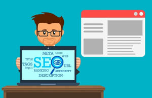 Animation about SEO content optimization