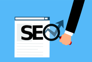 Animation on how SEO increases website traffic.